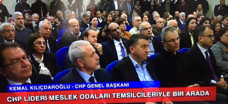 CHP Genel Başkanı Kemal Kılıçdaroğlu Hamok temsilcileriyle toplantı yaptı