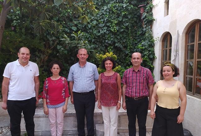 SES (Sağlık ve Sosyal Hizmet Emekçileri Sendikası) odamıza ziyareti